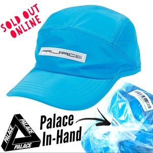 Palace Hologram Shell Running Hat Cap in Turquoise